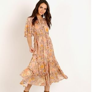 Spell & The Gypsy Amethyst Garden Party Dress NWT